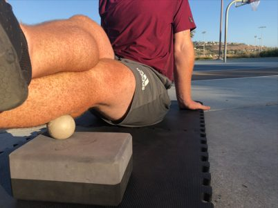 Self Myofascial Release for the calf